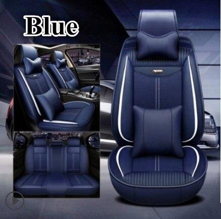 Meilleure qualité! Ensemble complet housses de siège de voiture pour Volvo V40 2018-2013 durable mode respirant housses de siège pour V40 2016, livraison gratuite