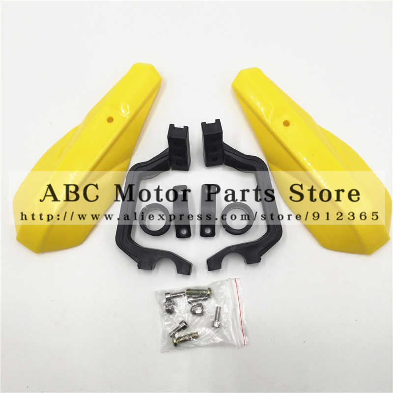 22mm Handlebar Plastic Handle bar Brush Hand Guards Handguard Protector Protection Pit Bike Street Motorcycle Motocross for KTM atv motorcycle wind shield handle hand guards motocross transparent handguards for honda cbf600 sa cbf1000 a cb1100 gio nc750
