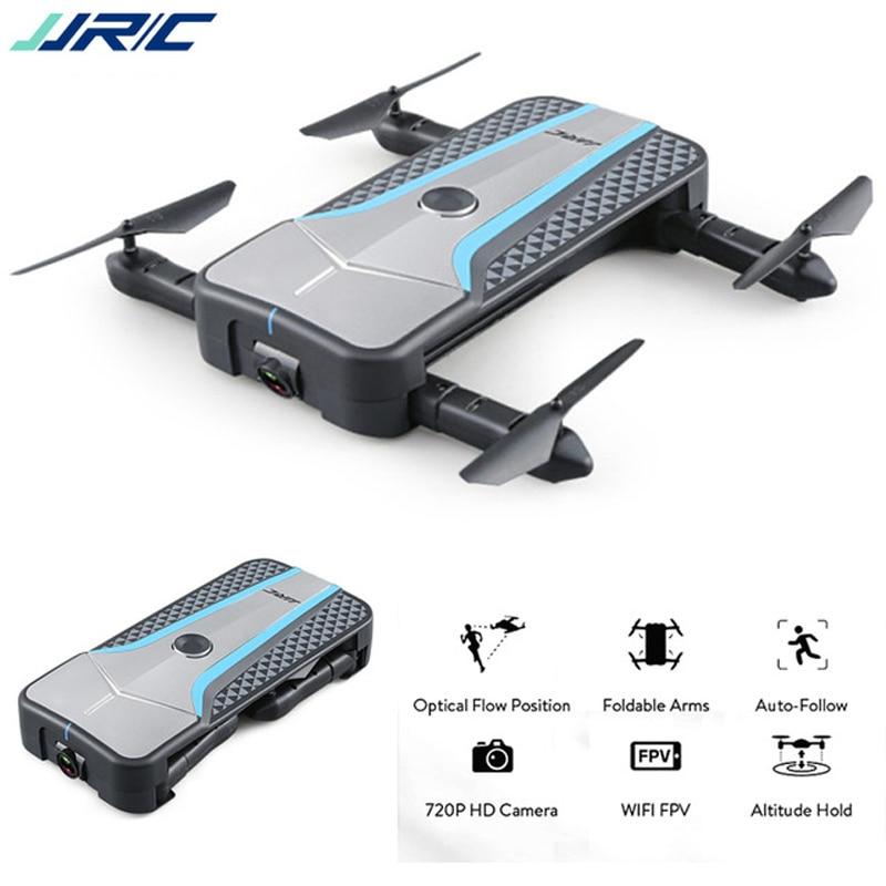 JJRC H62 Splendor RC Drone with 720P Camera Foldable Selfie Wifi FPV RC Quadcopter Auto-Follow Optical Positioning Mini RC Dron