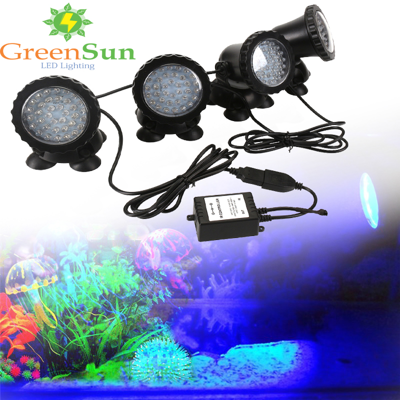 Led Lamps Lights & Lighting 2 In 1 72 Led Remote Control Submersible Underwater Lamp Spot Light For Garden Fish Tank Pond Fountain Aquarium Led Light