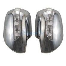 Автомобильный Стайлинг, боковое зеркало, Накладка заднего вида, без светодиодный лампы 2003-2009 для Toyota Land Cruiser Prado FJ120, аксессуары