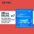 V2 Original SKYRC iMax B6AC 50 W 6A Max Cargador Del Balance descargador de Aeromodelismo RC NiMH NiCd Lilon LiPo LiFe Re-pico modo