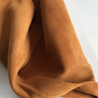 Junetree High quality Sheep skin leather Genuine leather suede face leather soft 1.0 1.2mm thick whole skin leather craft