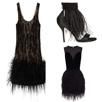 Image 5 - 5meters/10Meters Width 11 16cm Ostrich Feather Fringe Ribbon Trim  Cloth Skirt Lace DIY Party Wedding Dress Accessories CraftLace   -