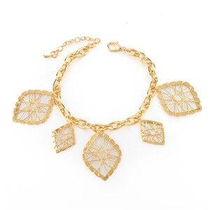 CHICVIE Retro Gold Leaf...