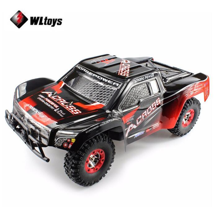 Wltoys 12423 RC voiture 1/12 4WD électrique brossé court Course RTR voiture SUV 2.4G télécommande Radio véhicule 4 roues conduire RC jouets