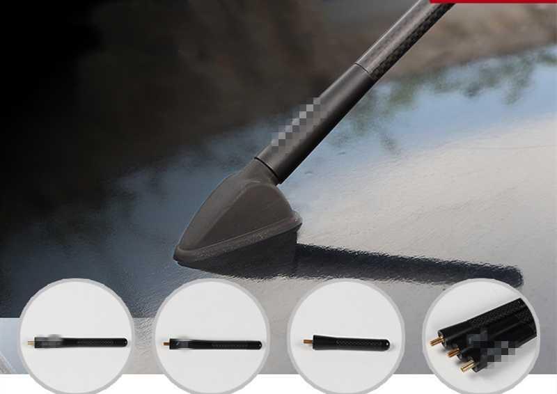 ホンダフィットジャズ 2016-2018 アルミ車屋根ラジオアンテナ蜂スティングネジ AM Fm 空中カースタイリング自動交換部品