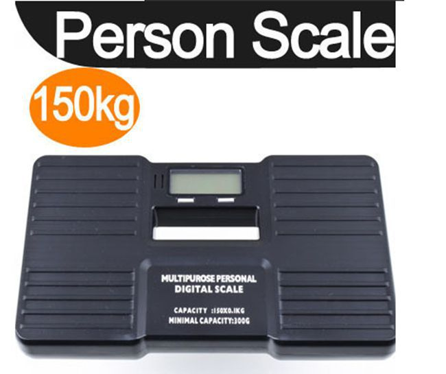 Precision 150KG 0.1KG Personal Scales Electronic Bathroom Human Body Floor Scale Portable Body Weighing Balance Weight Device
