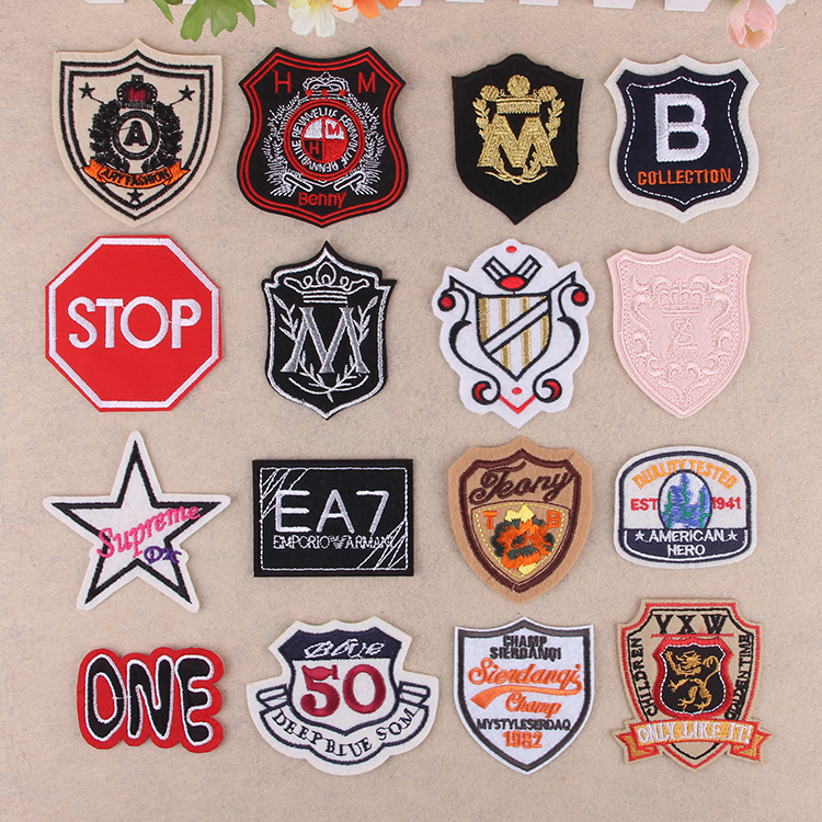 Embroidery badges,embroidery patch,embroidery logo,s buy hand.