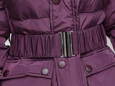 Grands Slim Longue 2black Aw1152 Down 1 Black Nouvelle purple Duvet Veste Blanc Hiver Belle Femmes Chantiers Canard Mode camouflage Cuisse De Manteau Épais Europe Blue ZxwSUT7q