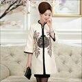 Среднего возраста женщин осень пальто Куртка женщин вниз пальто Одежда женщины большой размер Тан костюм к старому AA1566z