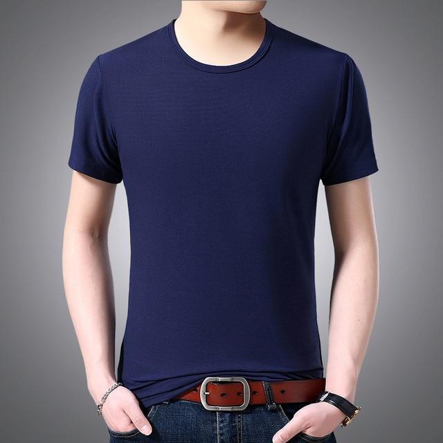 V Neck Short Sleeved T-shirt 4