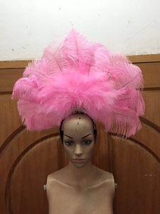 Image 1 - Accessori Di Moda squisita piume del copricapo Delicato di ballo di ballo latino Samba mostra accessori