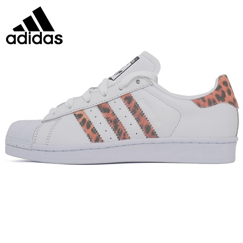 Original New Arrival 2018 Adidas Originals SUPERSTAR Women's Skateboarding Shoes Sneakers image