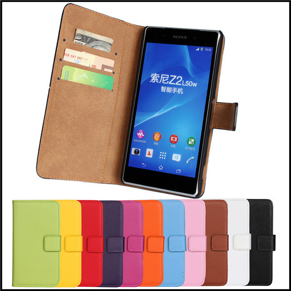 Protective <font><b>Case</b></font> For <font><b>Sony</b></font> <font><b>Xperia</b></font> <font><b>Z2</b></font> Mobile <font><b>Phone</b></font> Accessories Bags Leather Wallet Card Slot Stand For <font><b>Sony</b></font> <font><b>Xperia</b></font> <font><b>Z2</b></font> <font><b>Case</b></font> Cover