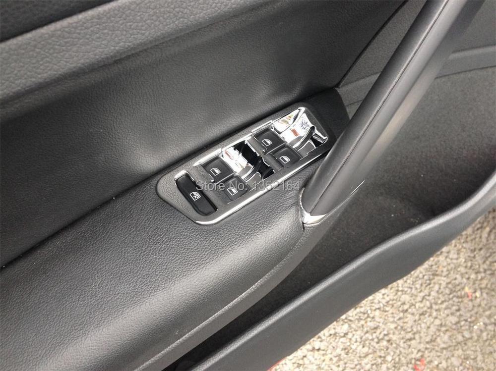 Авто инерционные аксессуары, стеклоподъемник для кнопки переключателя наклейка для Volkswagen vw golf 7, автомобильный Стайлинг