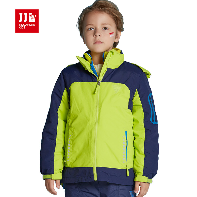 winter boys jackets outdoor kids snowsuit windproof kids ...