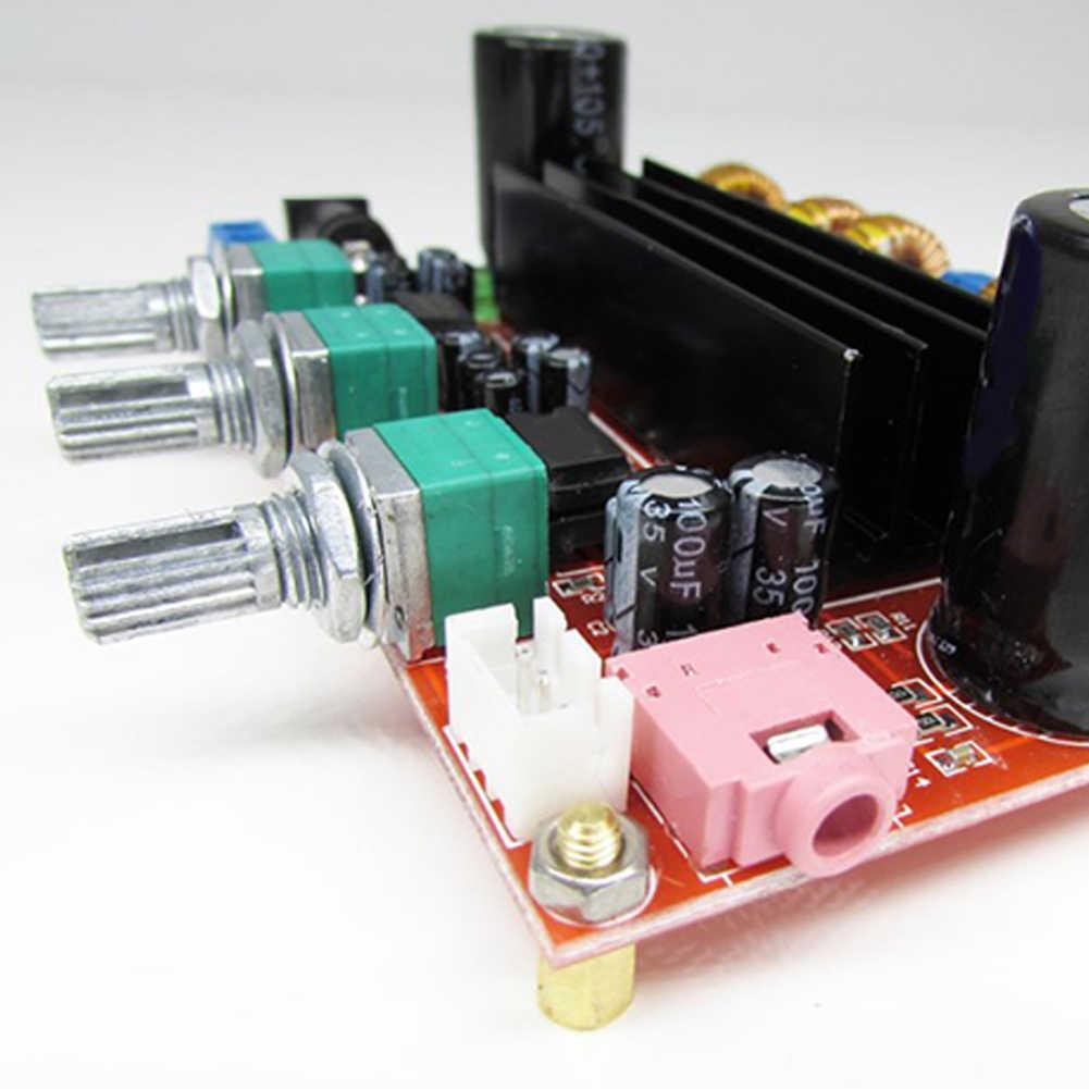 Лидер продаж аудио модуль усилителя TPA3116D2 50Wx2 100 W 2,1 канальный цифровой сабвуфера усилителя звука доска Портативный аудио Запчасти и