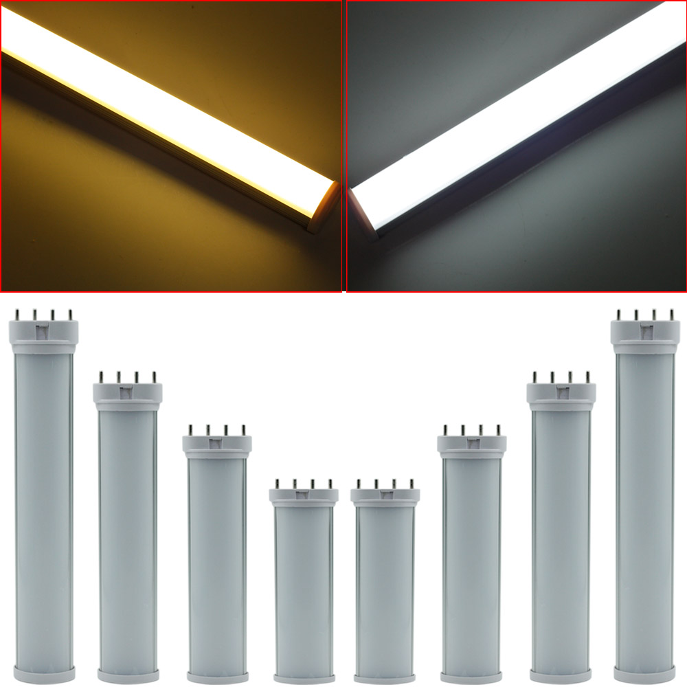 2G11 LED Tube Light LED Bar 12W 15W 18W 25W SMD2835 Diffused Cover AC85-265V White/Warm White 2G11 Tube Lamp Replace Halogen lexing lx r7s 2 5w 410lm 7000k 12 5730 smd white light project lamp beige silver ac 85 265v
