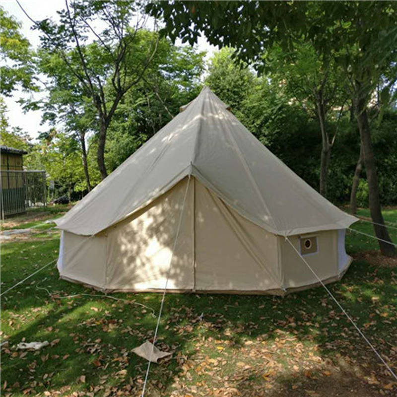 Size 300*300*200/60cm bell type outdoor canvas tent large disaster relief tent customized flame retardant canvas warm tent-in Tents from Sports ... & Size 300*300*200/60cm bell type outdoor canvas tent large ...