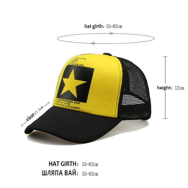 Novo 2018 Super Big Estrelas cap Hat Outono-verão baseball caps snapback  para Homens e 8ace461353c