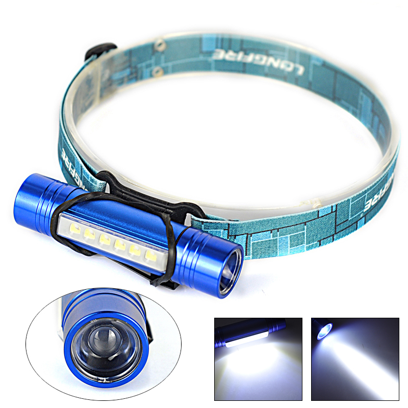 Multifunction Headlight 6 LED Q5 LED Headlamp Head Torch Lamp LED Flashlight linterna frontal for Hunting