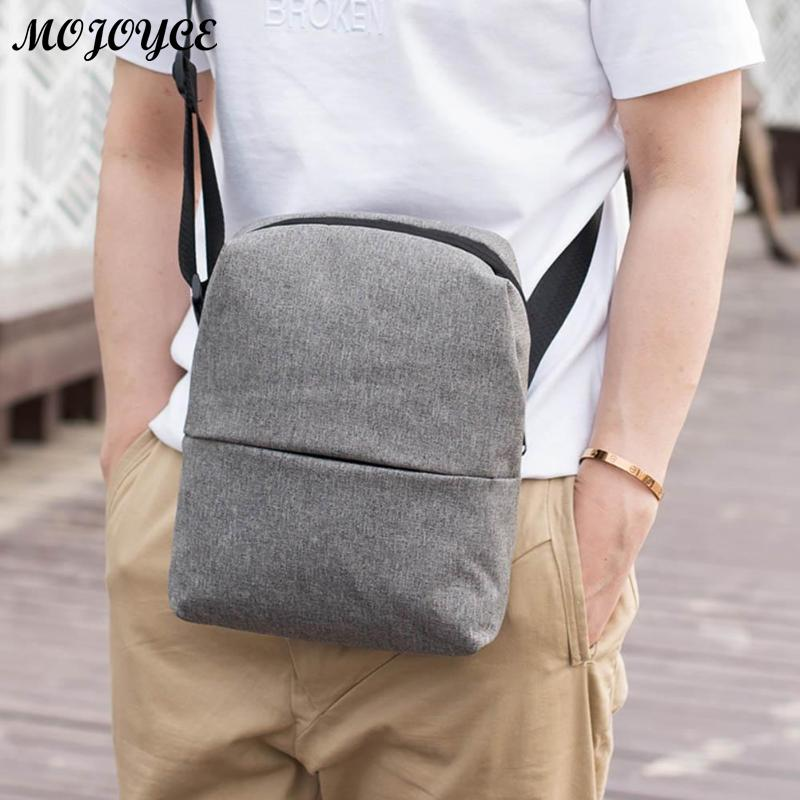 New Men's Crossbody 2018 Fashion Shoulder Bags High Quality Nylon Waterproof Casual Messenger Businessmen Bag Casual Briefcase 2