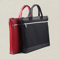 High End Portable Double Layer Leisure Fashion Business Men And Women Portable File Package Briefcase Bags