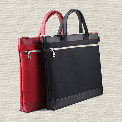 High - End Portable Double - Layer Leisure Fashion Business Men And Women Portable File Package Briefcase Bags