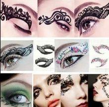Sex Products Eye Flash Tattoo Temporary Tattoo Fake Tatoo Gold Waterproof Makeup Maquiagem Tatuagem Tatto Tatto Tatuajes M85-YT
