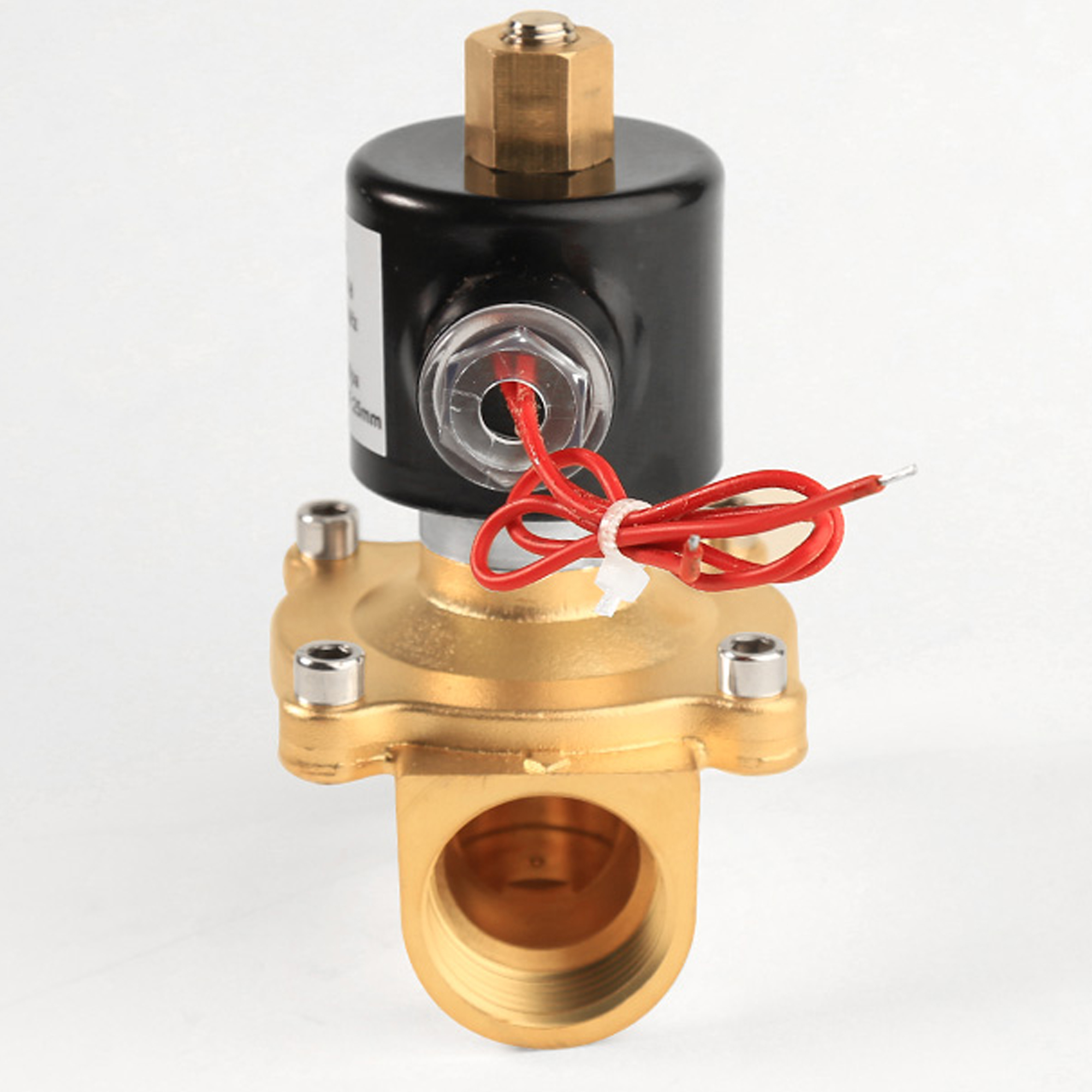 Image 5 - AC 110V 220V DC 24V 12V waterproof and moisture proof normally open water solenoid valve,DN15 DN20 DN25 DN32 DN40 DN50 valves-in Valve from Home Improvement