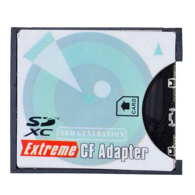 SD SDHC SDXC, чтобы Высокоскоростной Экстрим Compact Flash CF Type II Адаптер поддержка WI-FI SD Карты для 16/32/64/128 ГБ