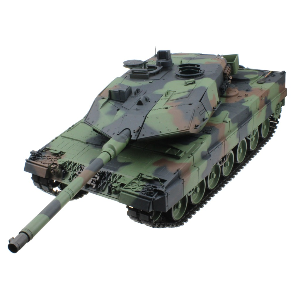 2 4G 1 16 15 Channel German Leopard 2 A6 Radio Control Battle Tank RC Army