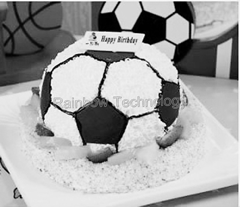 Basketball Soccer Ball Cake Form For Baking Pan Aluminium Metal