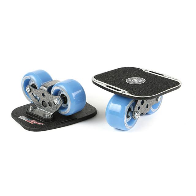 Drift Board Twolions Mirage Aluminum For Freeline Roller RoadDrift Skates Antislip Skateboard Deck Freeline Skates Wakeboar DB2