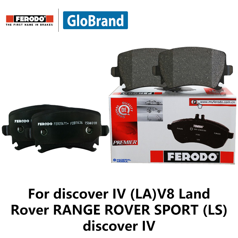4pieces/set Ferodo Front Car Brake Pads For discover IV (LA)V8 5.0 Land Rover RANGE ROVER SPORT (LS) discover IV FDB4455 цена и фото