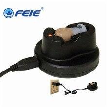Прямая с фабрики oem в ухо USB слуховой аппарат Перезаряжаемые с Зарядное устройство мини-персональный усилитель звука S-102