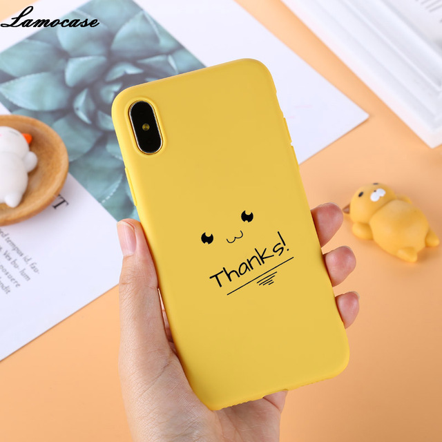 the best attitude bd34f 809c0 US $1.21 18% OFF|Lamocase Phone Case for iPhone XS X XS Max XR Case Yellow  Cover Funny Banana Cute Cases for iPhone 7 8 6 S 6S Plus 5 5s Coque-in ...