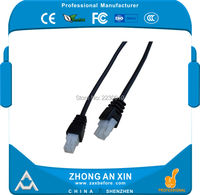 5 meters 4pin 5559 plug Vehicle Double shielded 4 core aviation connector Audio and Vedio extension cable