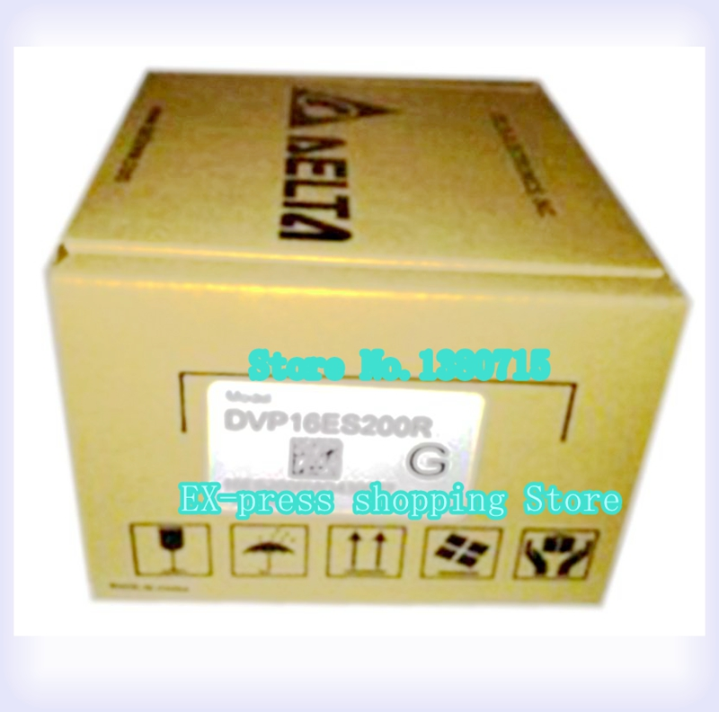 New Original DVP16ES200R PLC ES2 series 100-240VAC 8DI 8DO Relay output