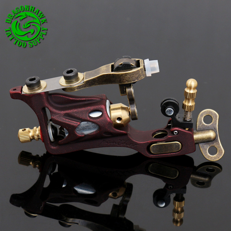 Hot Selling Rotary Tattoo Machine Guns Strong Powerful Shader&Liner Quiet Motor Free Shipping hot selling black handle mouth gas guns lpg guns for jewelry processing equipment goldsmith s tools buy more discount more