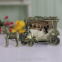 עובש PRZY לבנה נסיכת תובלה חתונה נישואים מעצב עוגת עובש סיליקון רטרו יצירתי מסגרת תמונה מסגרת
