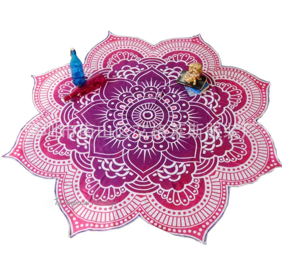 Hot summer szyfonowa wall hanging tapestry koc ręcznik plażowy duży mediter flora miękkie narzuta yoga mat obrus home decor 7