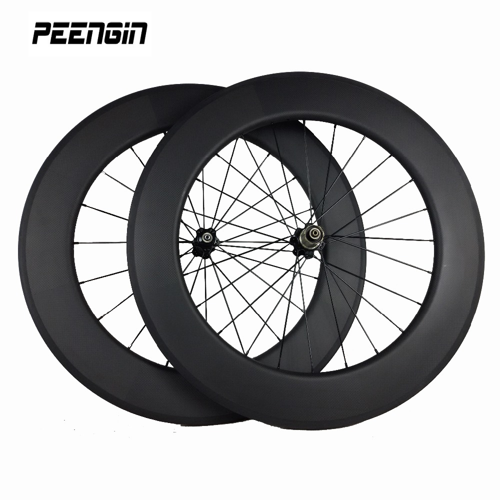 Aliexpress Com Buy Deep Section Carbon 700c Wheels 88mm