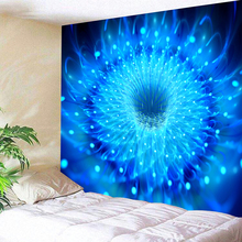 Blue Stretches 230x180cm 1pc Direct For Sunscreen Square Polyester Chakra Decorative Tapestry Sandy Beach Throw Rug Blanket