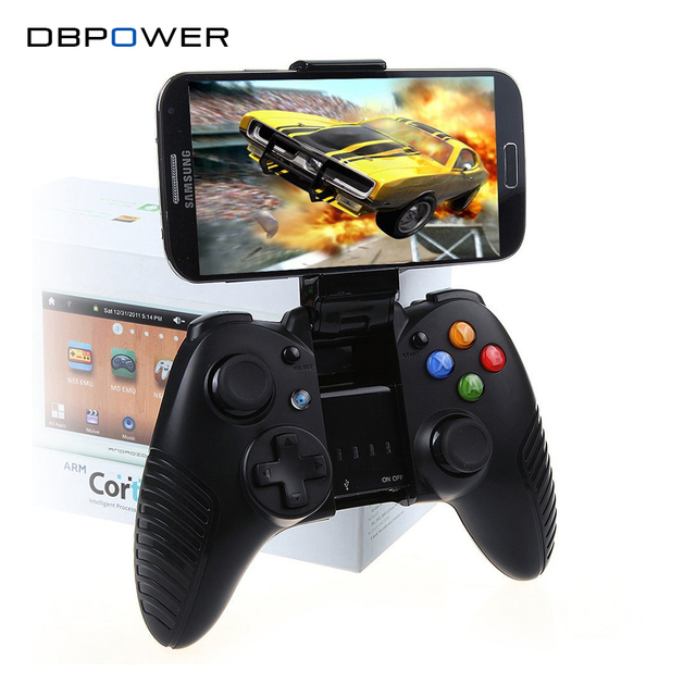 DBPOWER Wireless G910 Bluetooth Gamepad for PC Controle Joystick Controller Compatible with Android/IOS/PC and Telescopic Holder