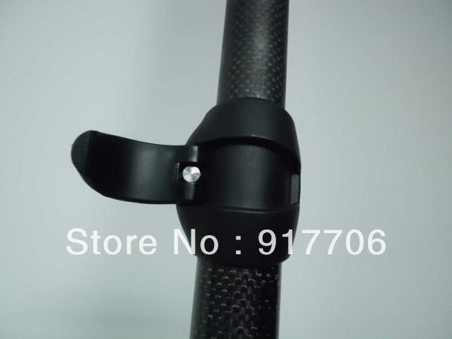 Adjustable two pice style carbon fiber stand up paddle
