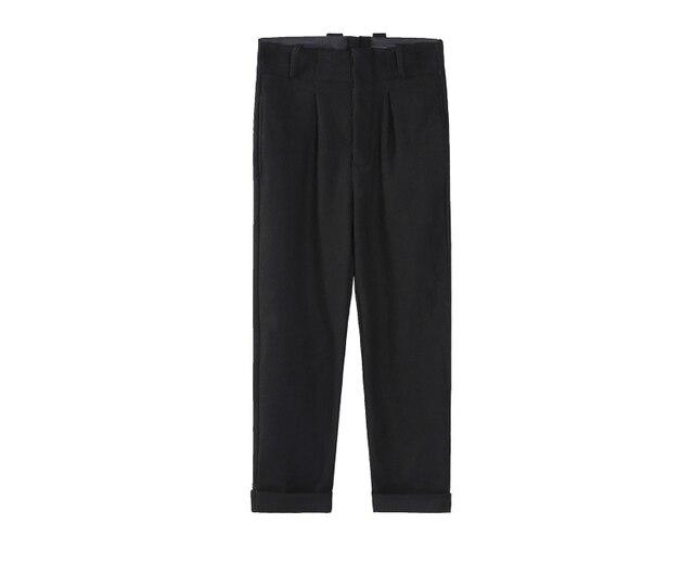 2016 Новая Мода Лоскутное Мужские Брюки Хип-Хоп Шаровары Мужчин Случайные Штаны Для Мужчин Черные брюки Уличная брюки