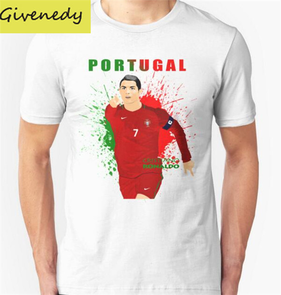 hot sale cristiano ronaldo portugal printed men t shirt. Black Bedroom Furniture Sets. Home Design Ideas
