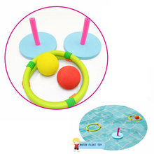 Children Kids Water Floating Rings Foam Toys Outdoor Swimming Pool Game Play Set Early Educational Gift